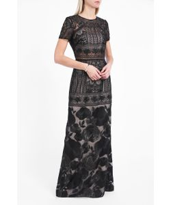 Marchesa Notte | Embroidered Long Dress Boutique1