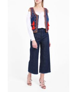 Vilshenko | Nadia Beaded Tassel Waistcoat Boutique1