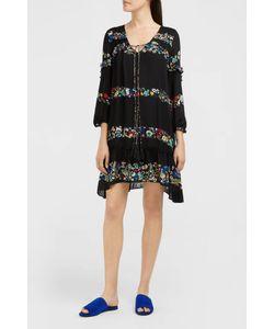 Derek Lam 10 Crosby | Print Ruffle Detail Dress Boutique1