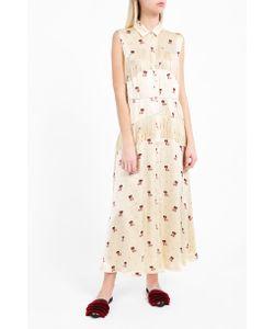 Ganni   Donnelly Satin Tassel Dress Boutique1