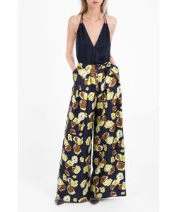 Martin Grant | Womens Wide Printed Trousers Boutique1