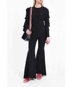Sara Battaglia | Ruffle Sleeve Blouse Boutique1