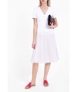 Sara Battaglia | Pleated Skirt Dress Boutique1