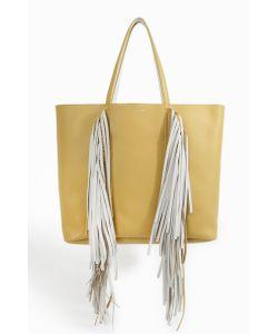 Sara Battaglia | Womens Ruffled Trim Shopper Bag Boutique1