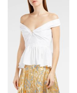 Peter Pilotto | Cotton Peplum Top Boutique1