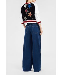 Spencer Vladimir | Star-Embellished Varsity Jacket Boutique1