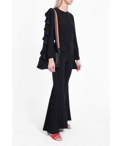 Sara Battaglia | Pleated Flare Trousers Boutique1