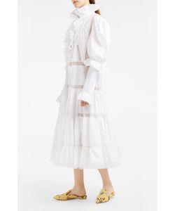 Natasha Zinko   Tiered Lace-Panel Dress Boutique1
