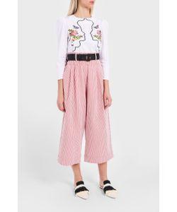 Vivetta   Stripe Seersucker Trousers Boutique1