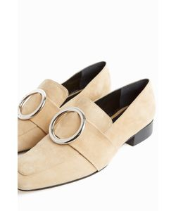 Dorateymur | Womens Harput Ring-Detail Loafers Boutique1