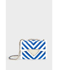 Sara Battaglia | Elizabeth Striped Shoulder Bag Boutique1