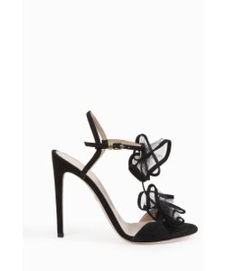 Giambattista Valli | Womens Double Ruffle Strap Sandals Boutique1