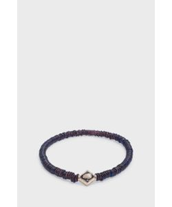 Luis Morais | Scarab Lozenge Beaded Bracelet Boutique1