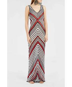 Spencer Vladimir | Crochet-Knit Chevron Maxi Dress Boutique1