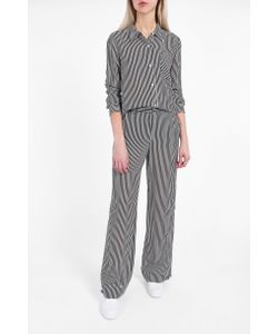 A.L.C. | A.L.C. Scott Striped Silk Blouse Boutique1