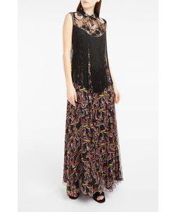 Giamba | Embellished Fringed Maxi Dress Boutique1