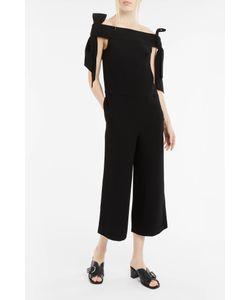 Tibi | Off-The-Shoulder Bow-Detail Jumpsuit Boutique1