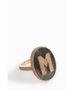 Carolina Bucci | M Initial Ring Boutique1