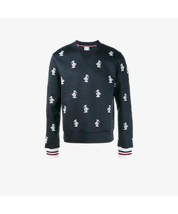 Moncler Gamme Bleu | Duck Embroidered Sweatshirt