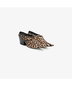 Haider Ackermann | Equilieus Point Toe Leopard Print Pumps