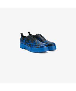 Comme Des Garçons Homme Plus   Paint Splatter Oxford Shoes