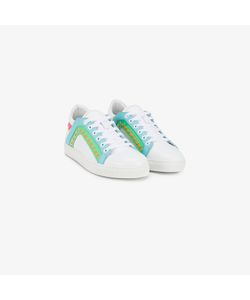Sophia Webster | Stripes Detail Lace-Up Sneakers