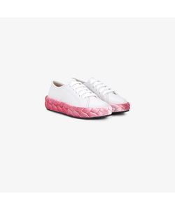 Marco de Vincenzo | Braided Flatform Sneakers