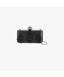Alexander McQueen | Heart Frame Embroidered Clutch