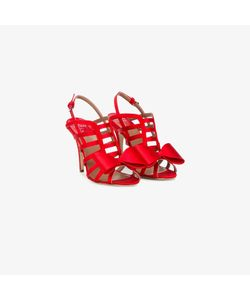Laurence Dacade   Bow-Embellished Cage Sandals