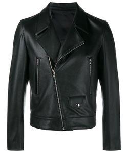 Curieux   Leather Biker Jacket