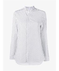 Marie Marot | Diana Stripe Ruffle Cotton Shirt