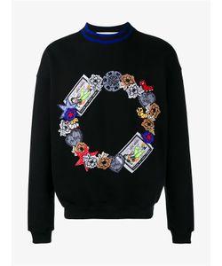 James Long | Embroidered Cotton Sweatshirt