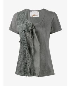 By Walid | Jodie Lace And Crochet T-Shirt