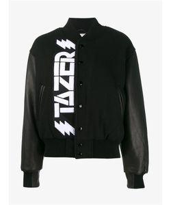 Ashley Williams | Wool And Leather Tazer Bomber Jacket
