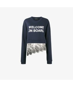 Filles A Papa | Welcome On Board Lace Sweatshirt