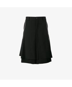 Comme Des Garçons Homme Plus   Flared Side Zip Shorts