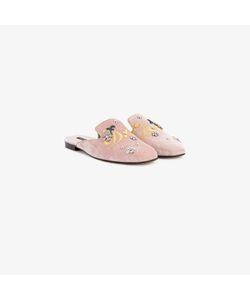 Dolce & Gabbana   Jackie Velvet Slippers