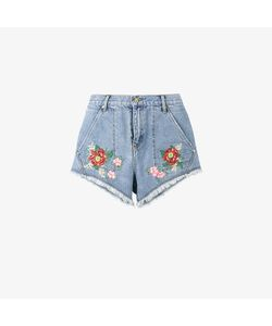 House Of Holland | X Lee Flower Embroidered Denim
