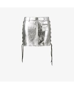 Filles A Papa | Lace Up Skirt