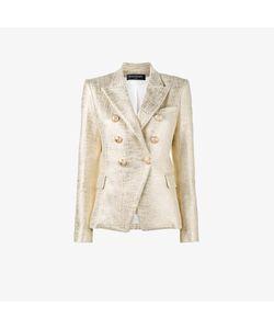 Balmain | Double Breasted Lame Jacket