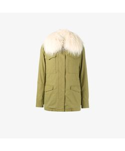 Army Yves Salomon | Raccoon Fur Trimmed Parka Jacket