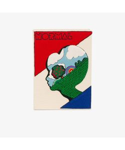 Olympia Le-Tan | Embroidered Normal Alien Book Clutch