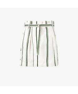 3.1 Phillip Lim | Stripe Pleated Mini Skirt
