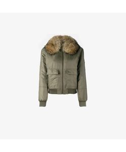 Army Yves Salomon | Fur Lined Bomber