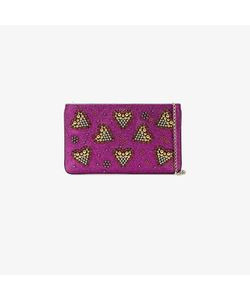 CHRISTIAN LOUBOUTIN | Heart Embellished Clutch