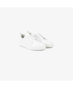 Pierre Hardy | Leather Slip-On Slider Sneakers