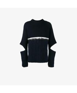 Helen Lawrence | Split Sleeve Ribbed Jumper