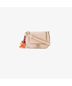 Anya Hindmarch | Vere Saddle Laser-Cut Shoulder Bag