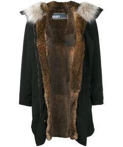 Army Yves Salomon | Rabbit Fur Lined Parka