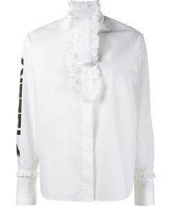 Ashley Williams | Ruffle Detail Shirt